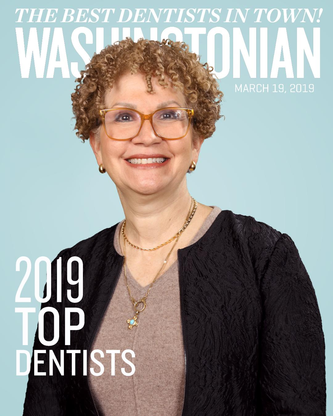 """TOP ENDODONTIST"" IN March 2019 Washingtonian!"